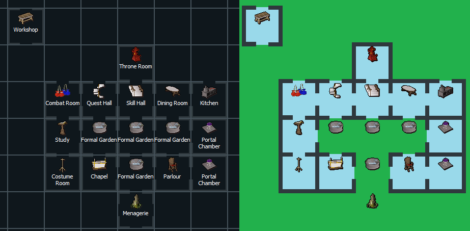 Osrs House Layout Easy Home Decorating Ideas